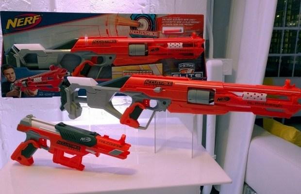 Hasbro's Accustrike Nerf Guns