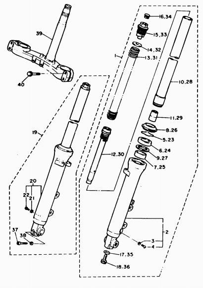 yamaha fz750 wiring diagram