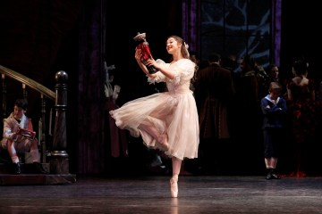 Benedicte Bemet in The Nutcracker. photo Jeff Busby