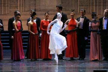 """Diana Vishneva in Ratmansky's """"Cinderella."""" Image N.Razina"""