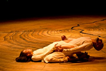Akram Khan and Ching-Ying Chien in Until the Lions. Credit Jean Louis Fernandez