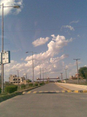 Wapda Town Phase-I Multan - a road side view
