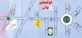 Sayyam Officers City Multan (Location Plan)