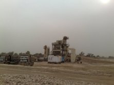 Asphalt Plant for Carpeting roads installed in Block E