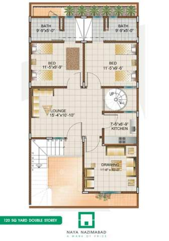 naya nazimabad housing city karachi bunglows floor plans