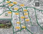 Naya Nazimabad City Karachi - Complete Location Plan or Map
