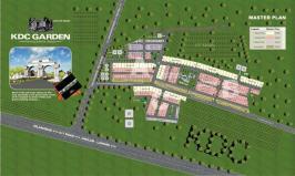 KDC Garden Jhelum - Master or Layout Plan