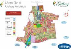 Master Plan Gulberg Residencia Islamabad
