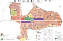 Green City Islamabad - Layout or Master Plan