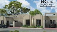 Saima Home Karachi - 160 sq yard single storey bungalow