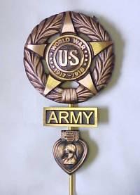 Military Grave Markers, veterans flag holder, veterans marker