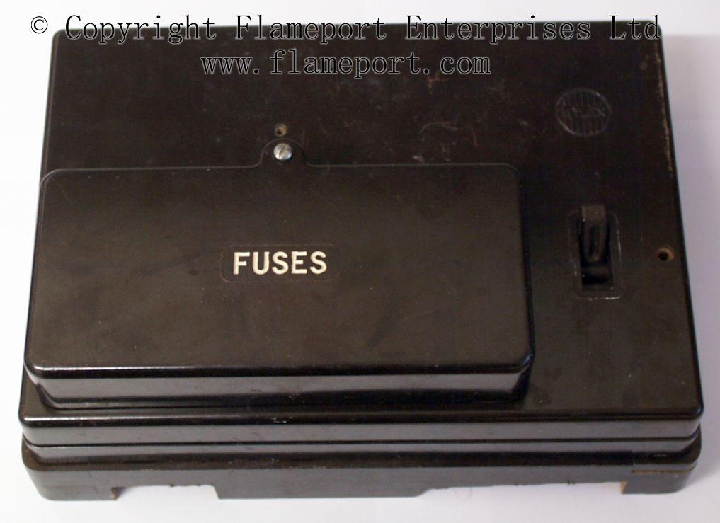 standard s2000 fuse box