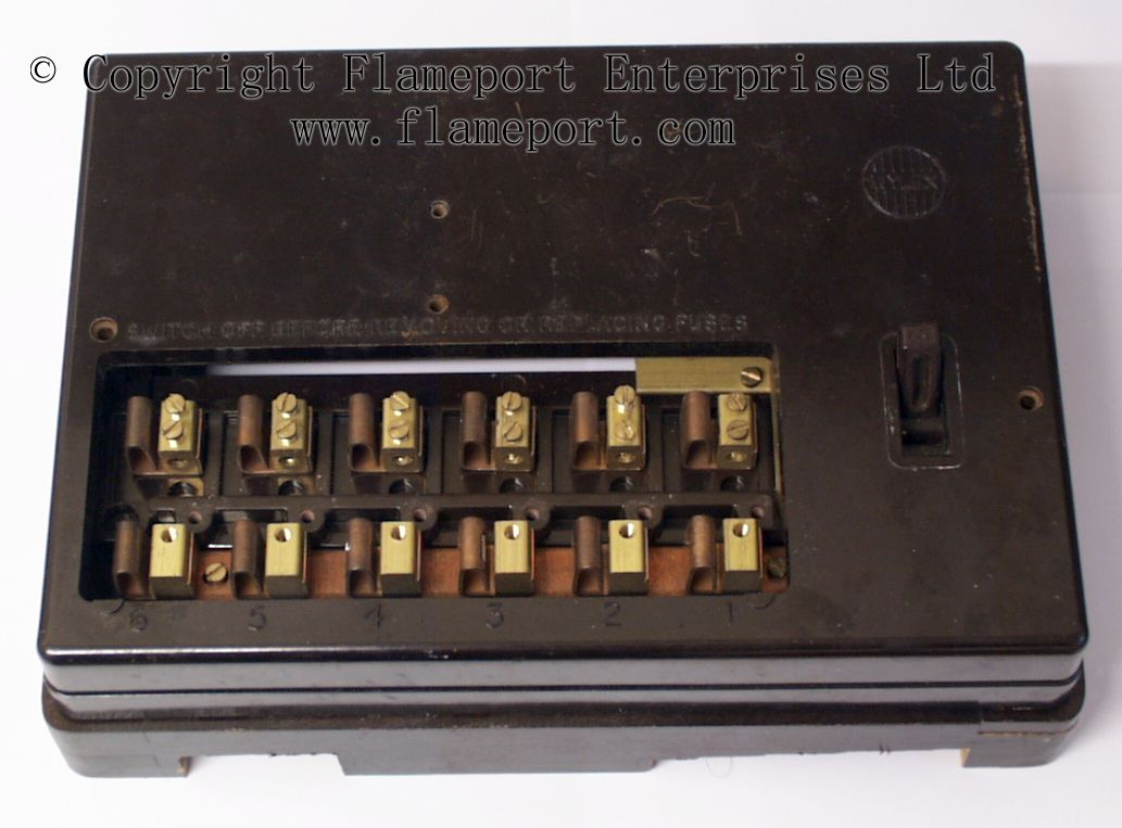 Old 60 Amp Fuse Box Auto Electrical Wiring Diagram Wylex 18 Images
