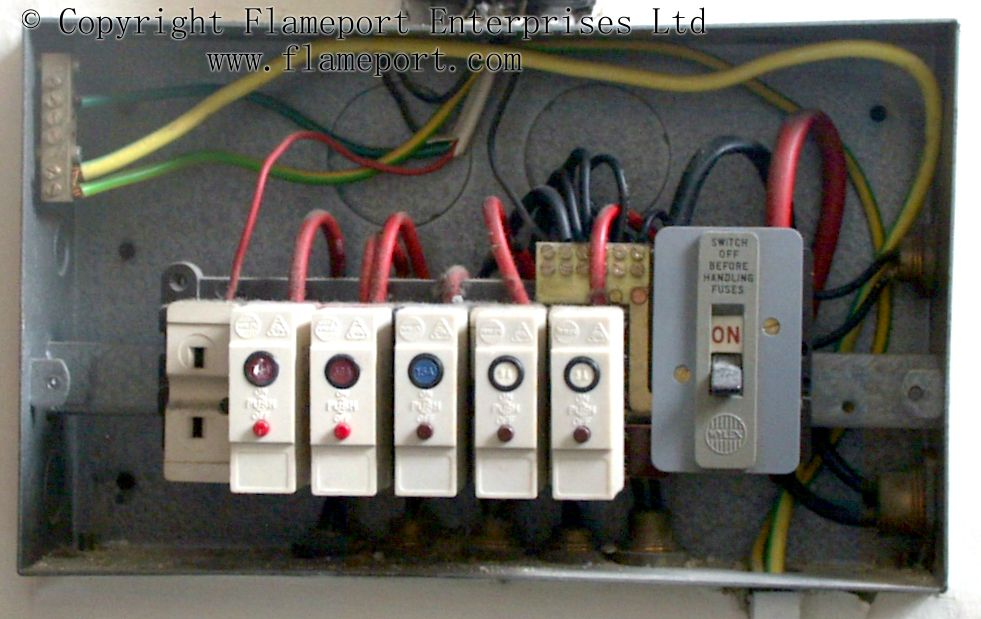 1960s Fuse Box - Wiring Data Diagram