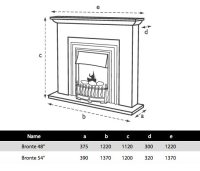Flamerite Bronte Electric Fireplace Suite | Flames.co.uk