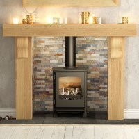 Be Modern Elicot Solid Oak Fireplace Surround | Flames.co.uk