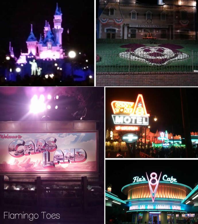 Disneyland and Cars Land