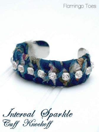 Interval Sparkle Cuff Knockoff