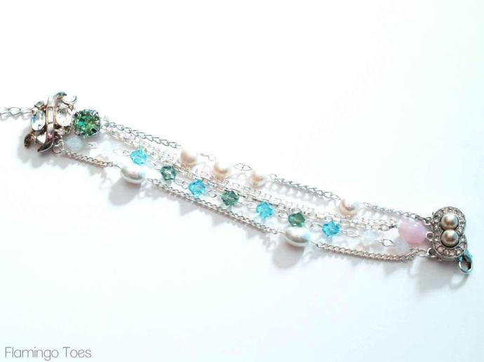 Beads and Chains Bracelet
