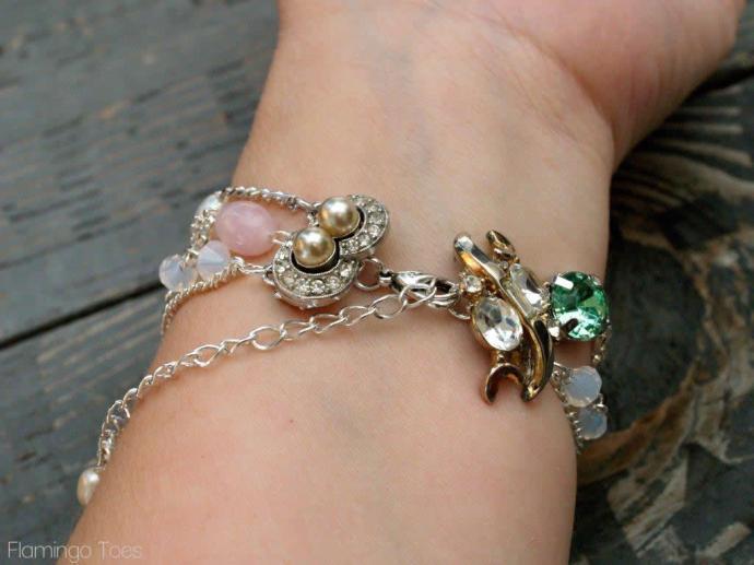 Brooch Bracelet Closure