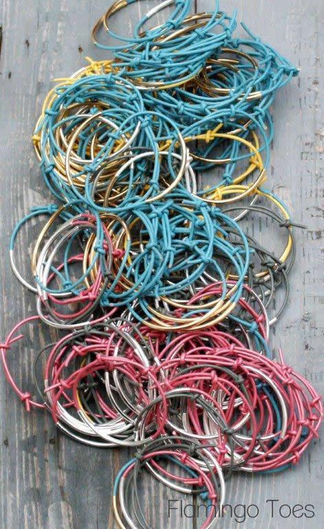 Leather Cording Bracelets
