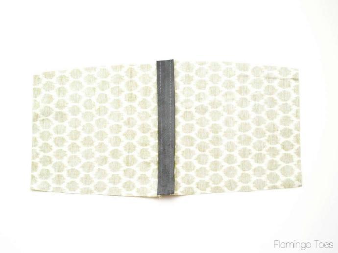sewing trim to pocket