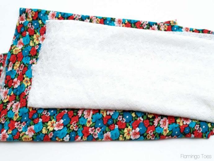 Infinity scarf fabrics