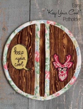 Easy Keep Your Cool Potholder