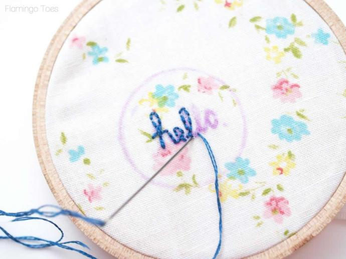 hello back stitch