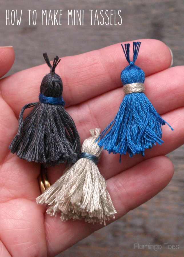 How to Make Mini Tassels
