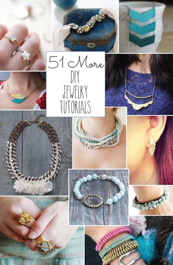 51 More DIY Jewelry Tutorials