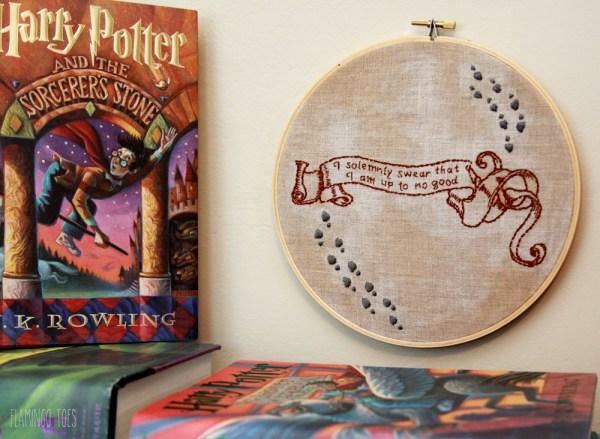 Free Harry Potter Hoop Art Pattern
