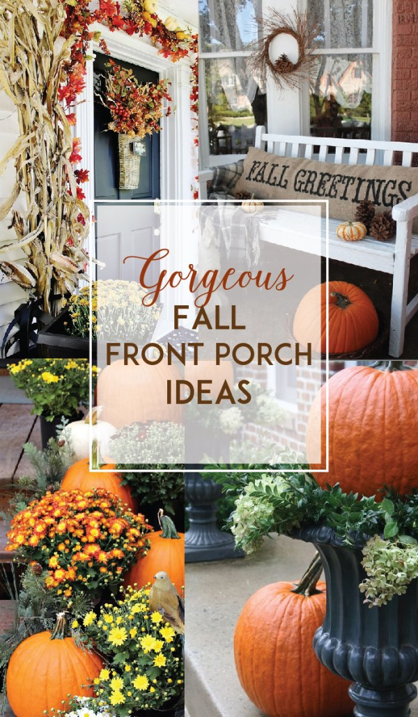Gorgeous Fall Front Porch Ideas