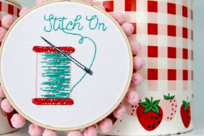 Stitch On – Free Embroidery Pattern