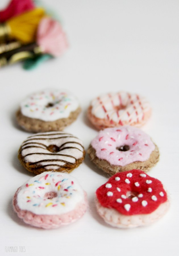 Cute Tiny Donuts