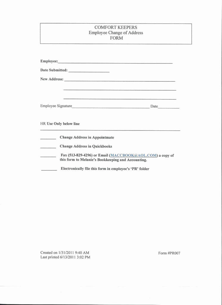 Adp Contact Change Request form Beautiful New Vendor form Template