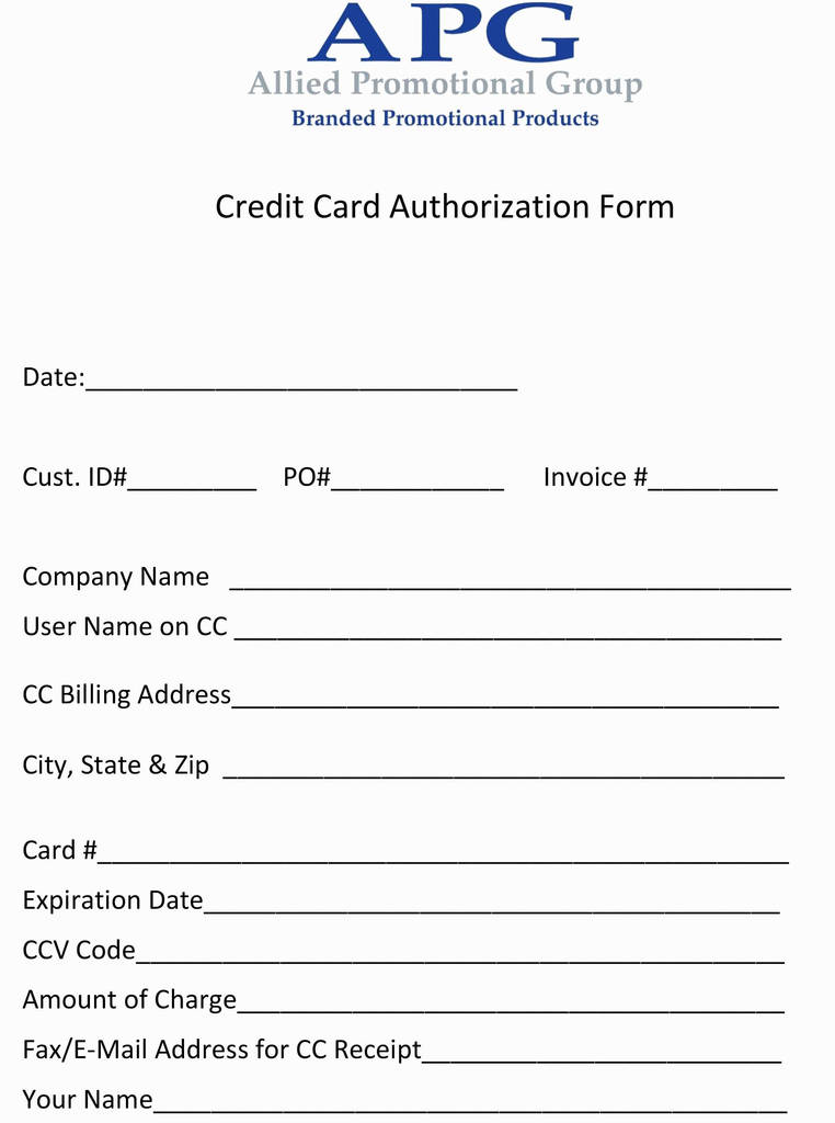 Hyatt Hotel Credit Card Authorization form Awesome Authorization to