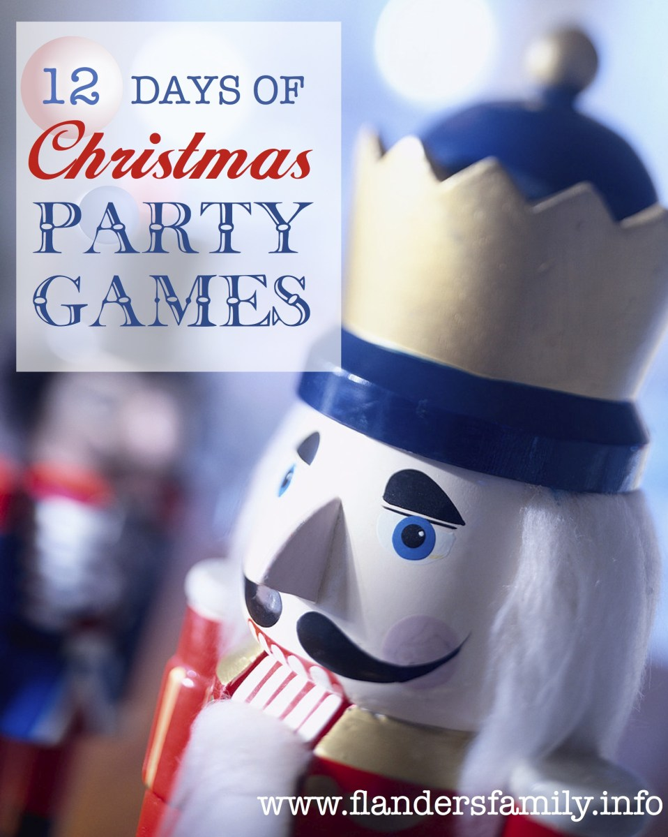12 Days of Christmas Party Games