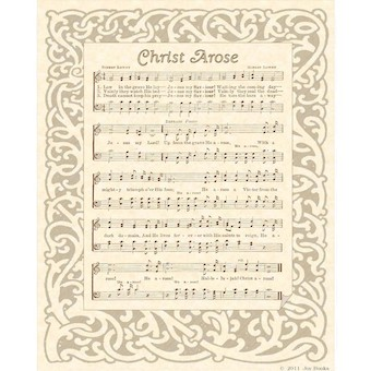 "Sheet Music for ""Christ Arose"""