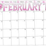 free printable scrapbooking calendars from www.flandersfamily.info