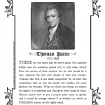 Thomas Paine's inspiring words about Freedom {free printable}