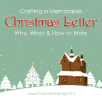 Christmas Letters: Why, What, and How to Write