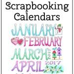 2017 Scrapbooking Calendar - thumbail