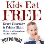 More Kids Eat Free - follow link for all the details