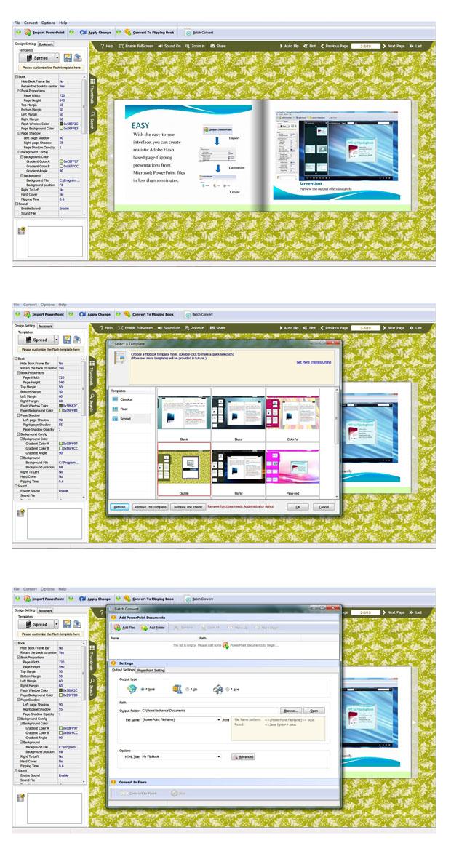 Flip PPT converter-Turn PowerPoint to 3D virtual flash flipbooks!
