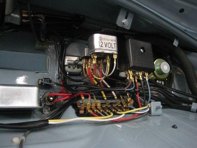 Ford 12 Volt Solenoid Wiring Diagram La Conversion 6v 12v Flat4ever Com