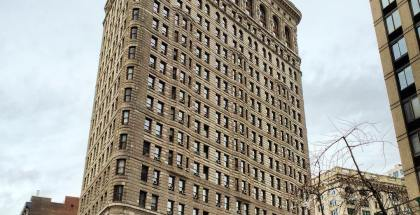 Rear View of the Flatiron Building #discoverflatiron