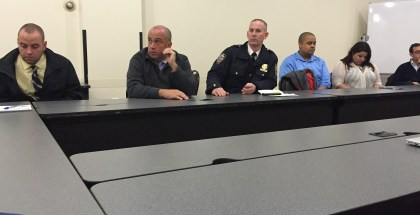 13th Precinct Heads Appear at Public Meeting before CB5!