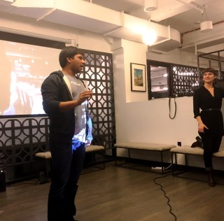 Townsquared and their Cloud-Based Business-to-Business Forum Host Holiday Party at WeWork