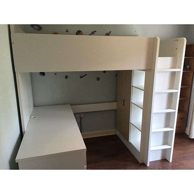 Ikea Loft Bed With Desk Assembly 28 Images Tromso
